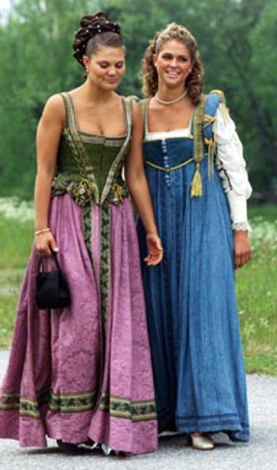 Madeleine von Schweden mit ihrer Schwester Kronprinzessin Victoria