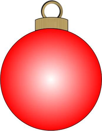 coloring pages christmas baubles clip - photo#44