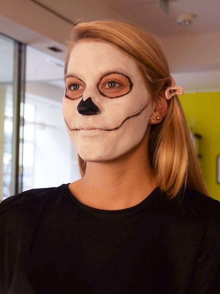So könnt ihr die mexikanische Totenmaske ganz einfach nachschminken