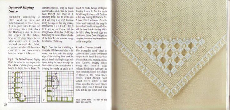 Gallery.ru / Фото #40 - the anchor book of hardanger embroidery - zouza-elabassy