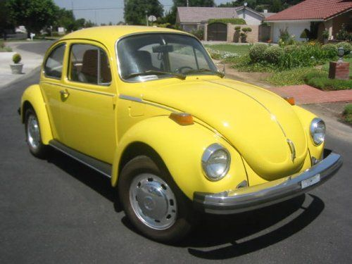 Volkswagen Bug - this is the car I used to learn how to drive stick shift.