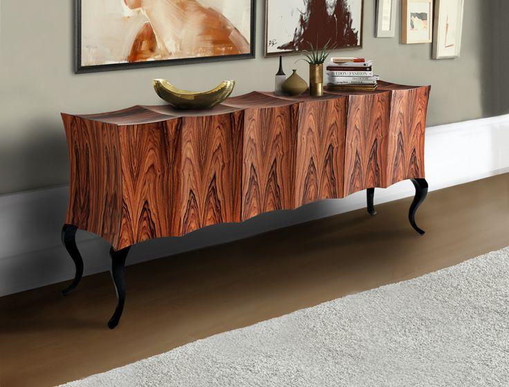 Rhythmic sideboard.  www.bateye.com #bateye #bateyecollection #bateyepieces #luxury #luxuryfurniture #sideboard