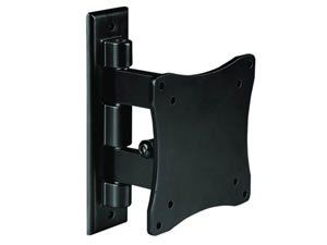 Low Profile Tilt / Swivel LED LCD TV HDTV Monitor WALL MOUNT Bracket VESA 75x75 / 100x100, Up to 33lb/15kg for Element ELCHS262 / Emerson LC195EMX LC195EM9 / Haier HLC19R1 HLC22R1 / Panasonic TC-L22X2 / RCA L22HD34D L22HD41 / Samsung P2370HD P2570HD / Vizio RAZOR VM190XVT VM230XVT VA19L VA19LHDTV10T VA26L VW26L -   Great for saving surface space by mounting your LCD or monitor on the wall Fits flat panel and LCD monitors with VESA mounting standard: 3 x 3 (75 x