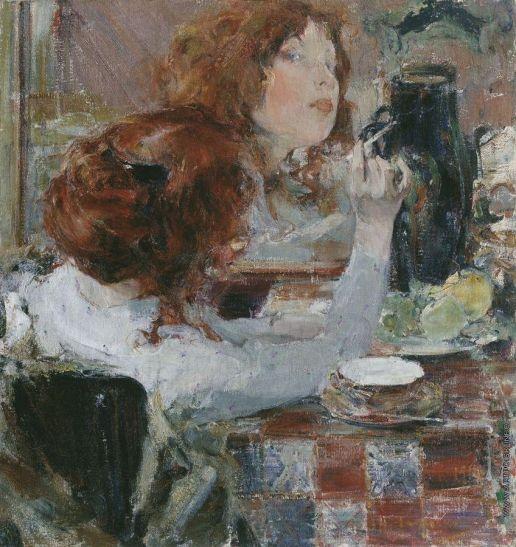 Фешин Николай Иванович [1881—1955] Золотые волосы. 1914 Приморская галерея