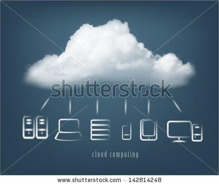The 30 Best Cloud Icons Images On Pinterest Cloud Vector Digital