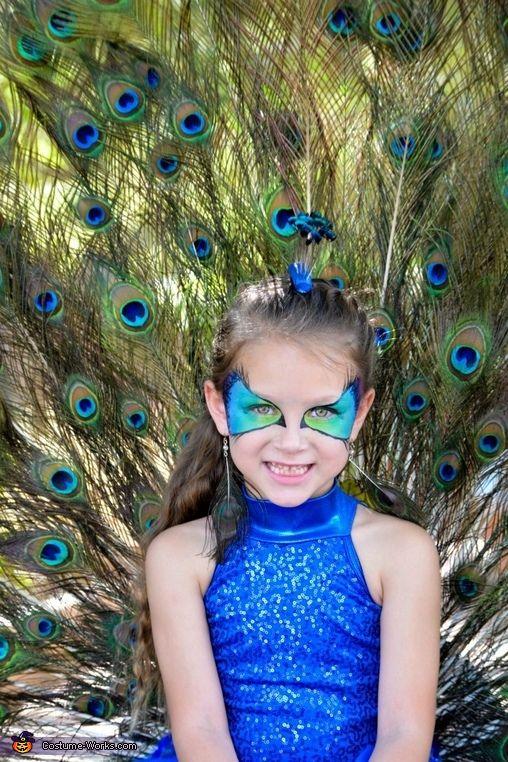 Pretty as a Peacock - Halloween Costume Contest via @costumeworks