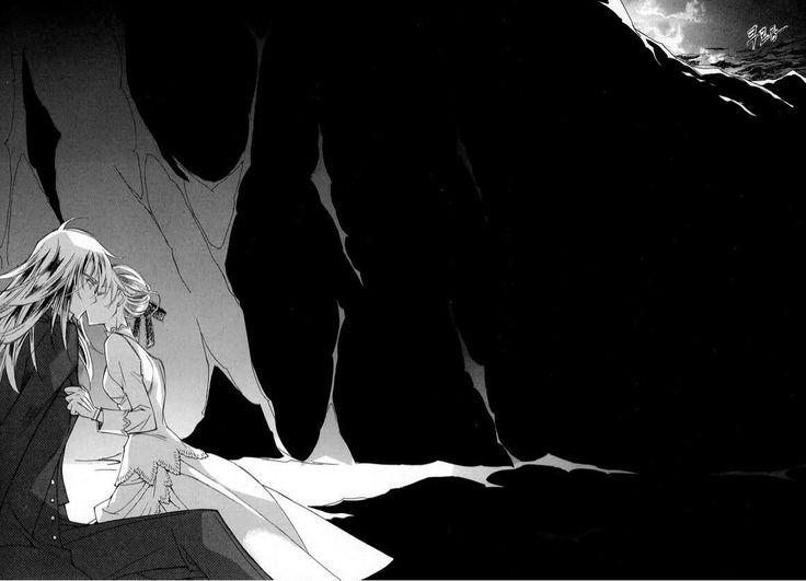 The Last Autumn Story: Ciel Yvienne kisses Krohiten