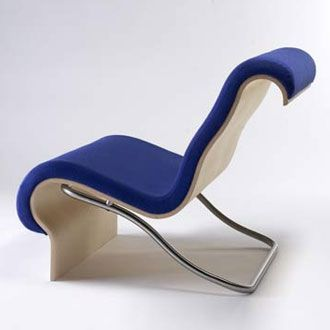 Lounge Chair Called Aurora Chair  Designed by Jorn Utzon