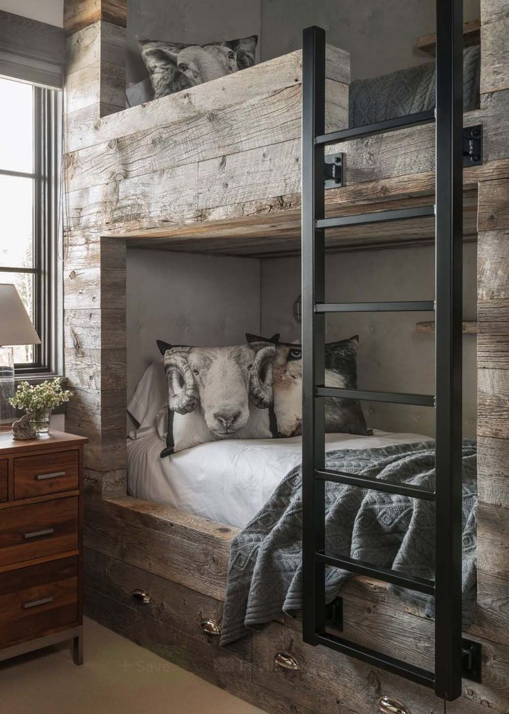 Rustic Mountain Chalet-Locati Architects-12-1 Kindesign #RusticPillow