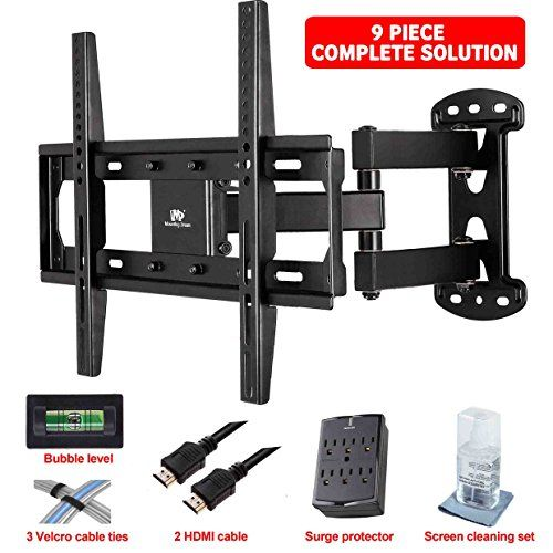 videosecu articulating full motion tv wall mount instructions