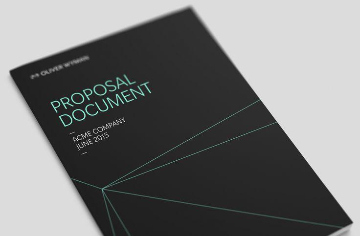 Oliver Wyman  Proposals  Dangar  Graphic Design Art Direction