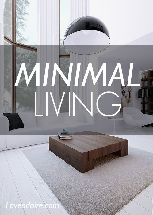 I'm trying to live minimally: to live with less in order to live more. Minimalism has helped me clarify what really matters in my life, and what is clutter.