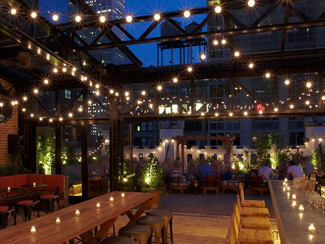 Refinery Rooftop at the Refinery Hotel   9 #NYC #Rooftops For Savoring an After-Work #Drink