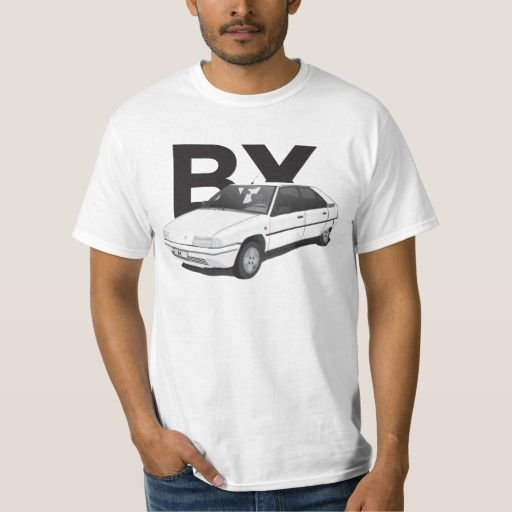 White Citroën BX  #citroenbx #citroënbx #citroen #automobiles #france #80s #90s #tshirts #knappidesign #white #car #classics