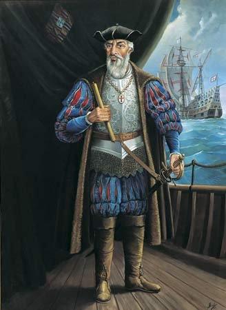 Vasco de Gama (1460 - Dec 23, 1524) 1st Count of Vidigueira: Portugese Explorer