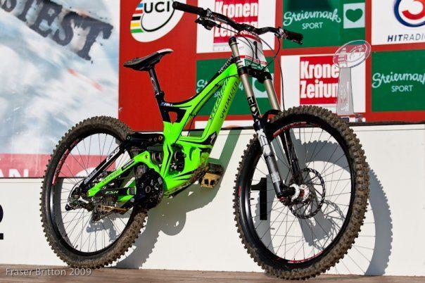 Specialized Mountain Bike in monster green