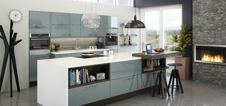 Astral Blue Kitchen