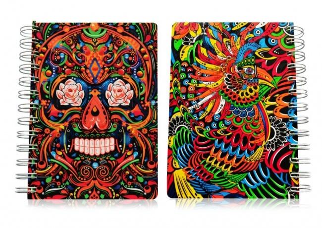 cuaderno skull
