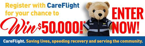 Hey there,I just entered the CareFlight $50,000 competition and thought you might be interested.  To enter, visit - http://your.careflight.org/referfriend/index/Nr4EKerngBBs4Z7Ov6CdWnRI4WdEc9Kt