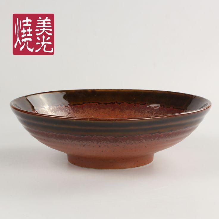 Japanese cuisine dinnerware&porcelain serving&noodle bowl E572-B-0121  Size: diameter 8.75 inch&9.5 inch