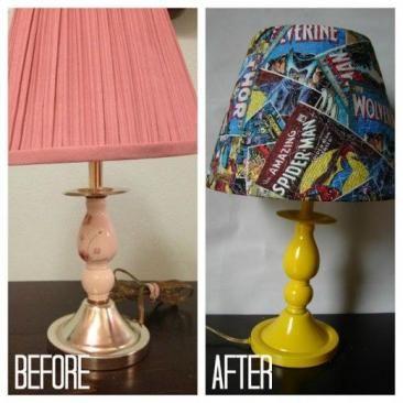 Éjjeli lámpa, állólámpa felújítása | Fotó via pinterest.com - PROAKTIVdirekt…