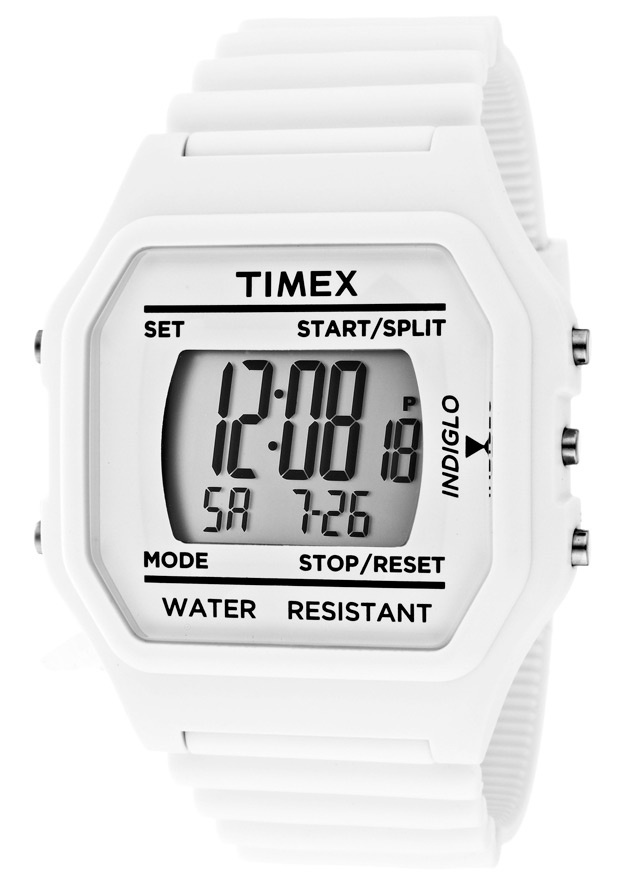 Price:$29.99 #watches Timex 2N243, This Timex timepiece is uniquely known for it's classy and sporty look. It's accentuated design has made it one of the best sellers year after year.