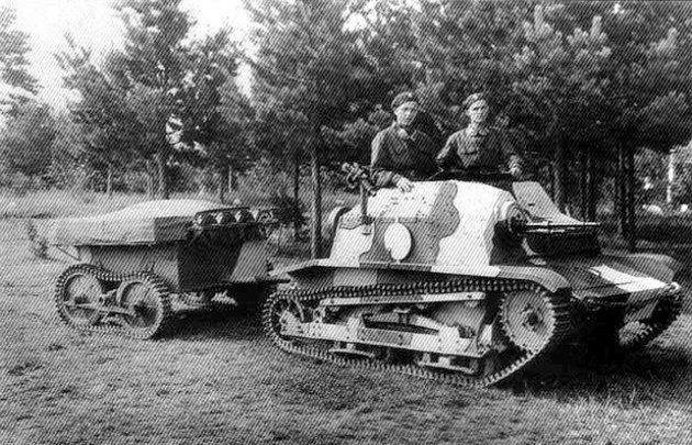 Estonian Tankettes TKS.