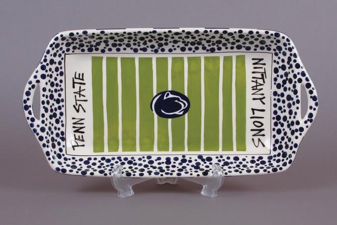 Penn State platter