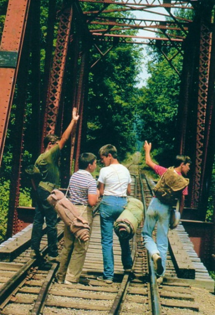 Stand By Me. Filmed near my hometown of Eugene, Oregon