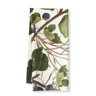 Botanical Fig Towel, Set Of 2 #williamssonoma. Kitchen ...