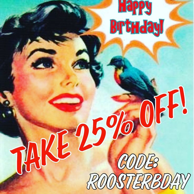 It's my birthday tomorrow, so to celebrate I'm having 25% OFF my entire Etsy shop!  Woot! 🎂🎂🎂  Use code ROOSTERBDAY to nab your discount at the checkout! (Because I'm Year of the Rooster) 🐔🐔🐔   Sale will end 11:59pm AEST 21st February!  ✨✨✨