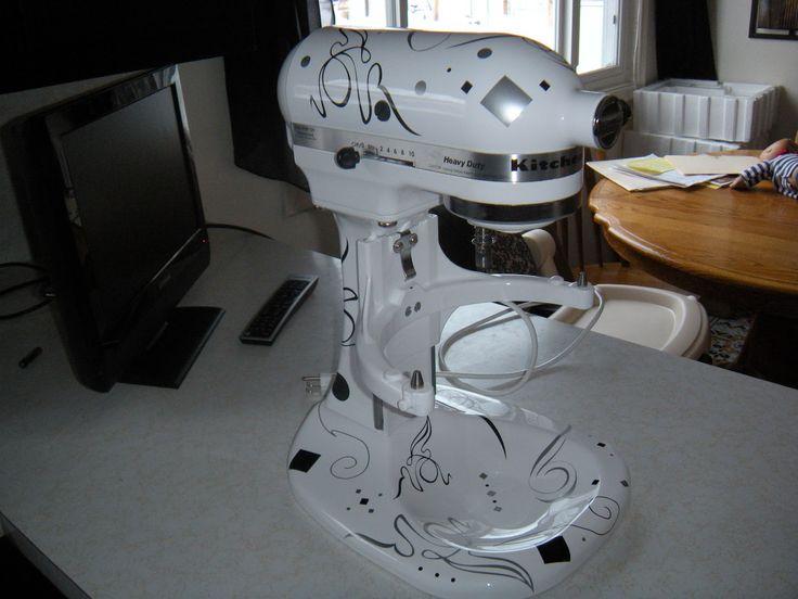 Decals Kitchen Aid Mixer Kitchen Aid Mixer Makeover