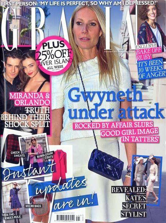 Gwyneth Paltrow (2013.11.04. Grazia) #GwynethPaltrow
