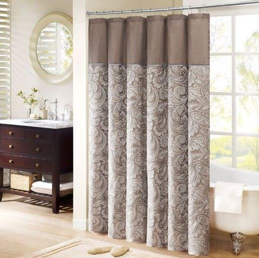 Cortinas De Baño Artesanales:Madison Park Aubrey Shower Curtain