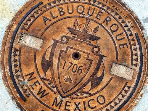 Manhole Cover Albuquerque New Mexico