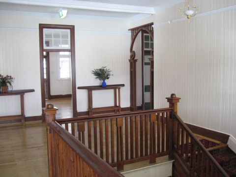 Babinda State Hotel: Entrance to Bedrooms