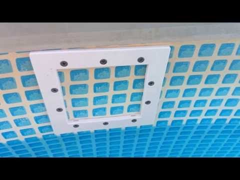26 best pool heater images on pinterest outdoor showers - Skimmer de surface intex ...