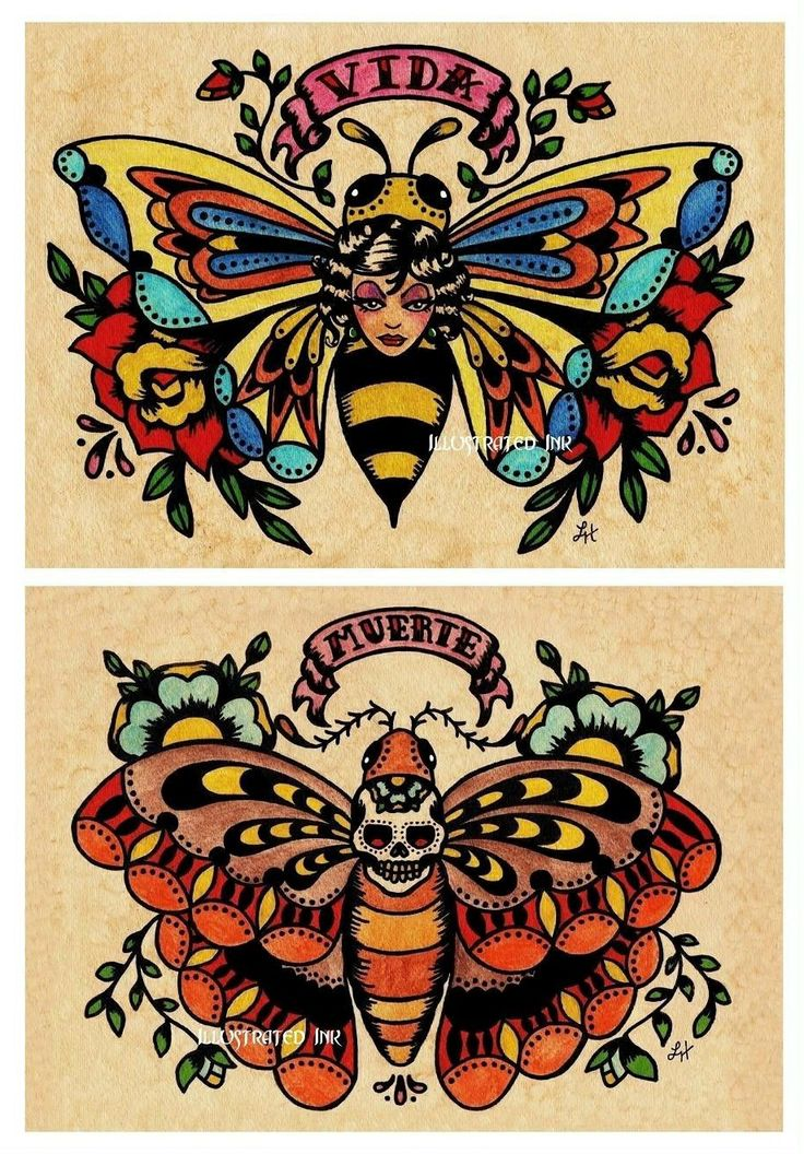 Bee tattoo idea