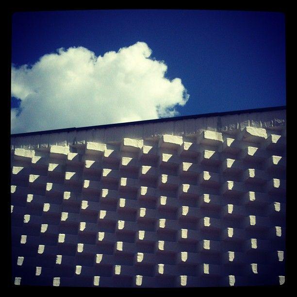 Iconic wall at Louisiana Museum of Modern art #architecture