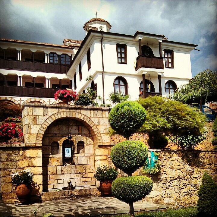 Exploring Macedonia - Monastery Rajcica, Debar