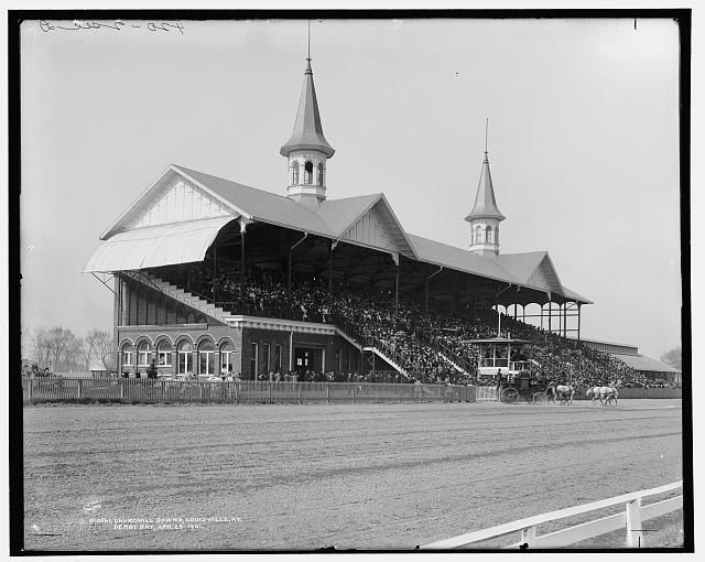 Churchill Downs, Louisville, Ky., Derby day