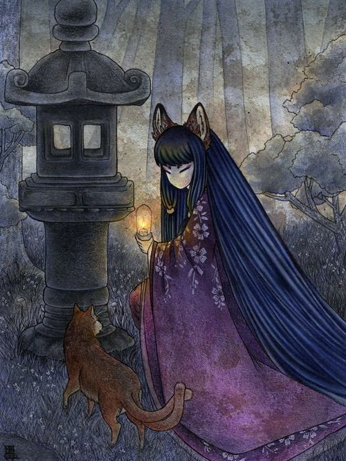 937 Best Kitsune Images On Pinterest Wolves Anime