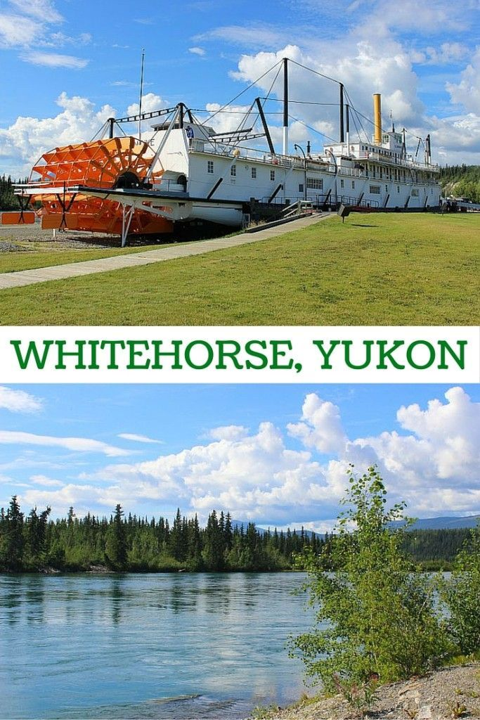 Must-see spots in Whitehorse, Yukon, including the picturesque wharf.