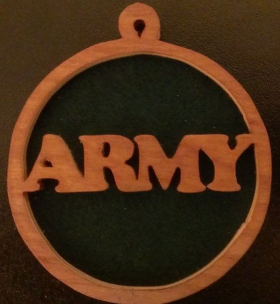 Hey, I found this really awesome Etsy listing at https://www.etsy.com/listing/176162604/military-ornaments-us-army-72