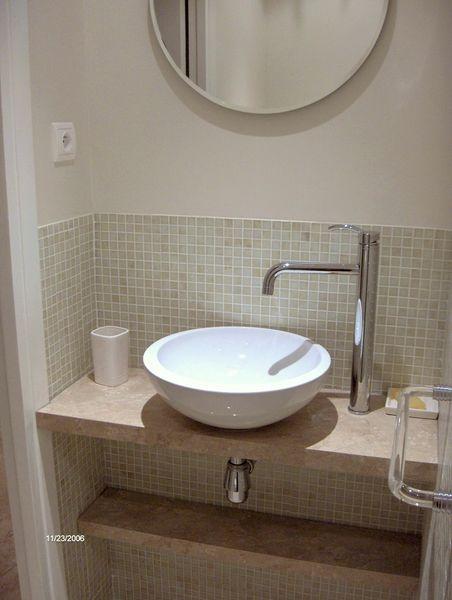 64 best images about petite sdb am nager dans chambre on for Petite salle de bain dans chambre