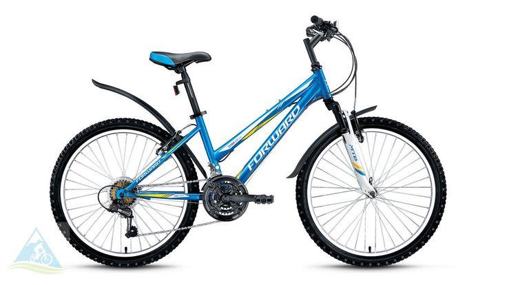 Велосипеды спортивные горный 24 Forward Titan 2.0 low