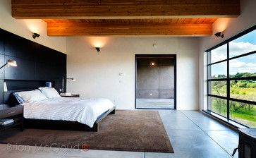 Wine Country Modernism - modern - Bedroom - San Francisco - Brian McCloud Photography