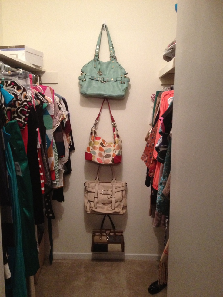 17 best images about command hook ideas on pinterest for Hooks to hang purses