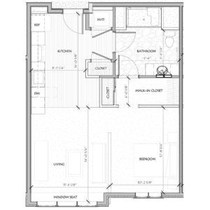 unit details 620 square feet additional storage our studio apartment is located on the