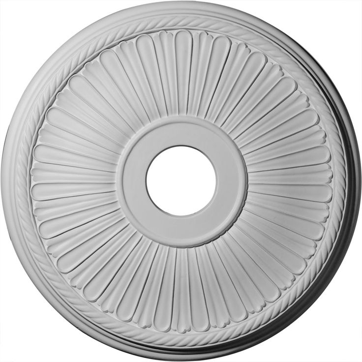 20 1/8-Inch OD x 3 7/8-Inch ID x 1 7/8-Inch P Berkshire Ceiling Medallion (Fits Canopies up to 6 3/8-Inch ) - 23.52
